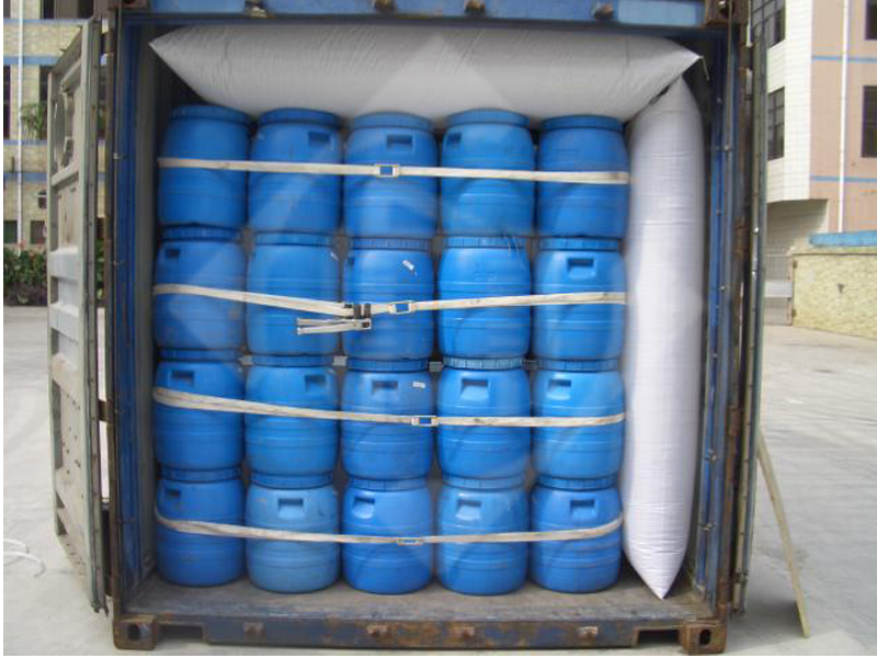 Системы защиты груза в контейнере, круглого груза